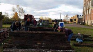 Volunteering at QMHA Cog Railway