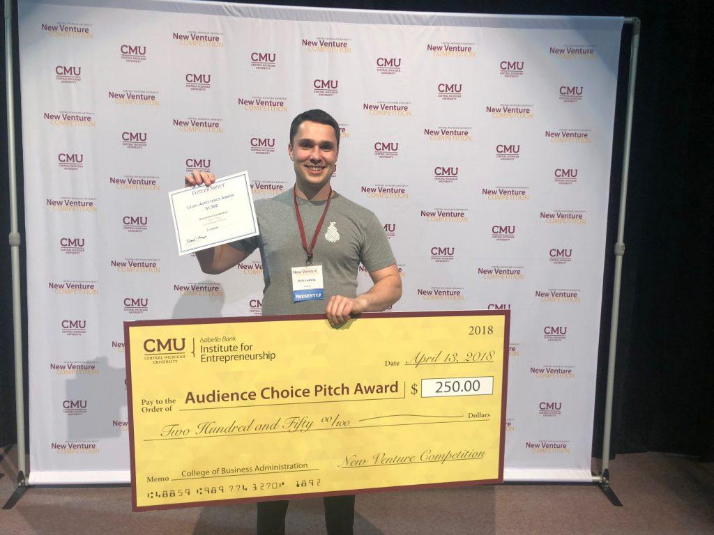 Ludwig wins Audience Choice pitch award