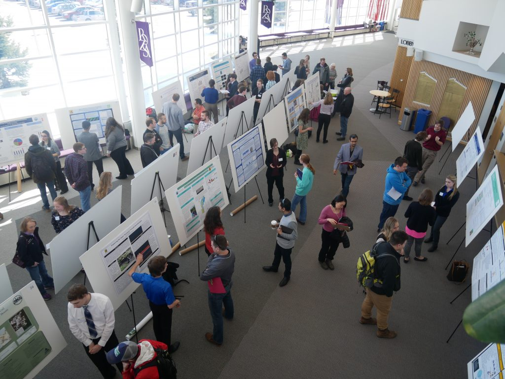 Undergraduate Research Symposium 2018 at the Rosza Center for Performing Arts