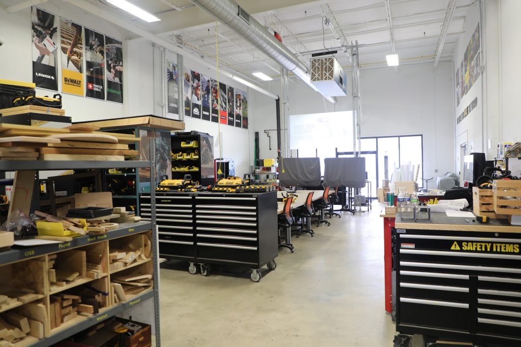 Stanley Black & Decker Makerspace in Towson, MD