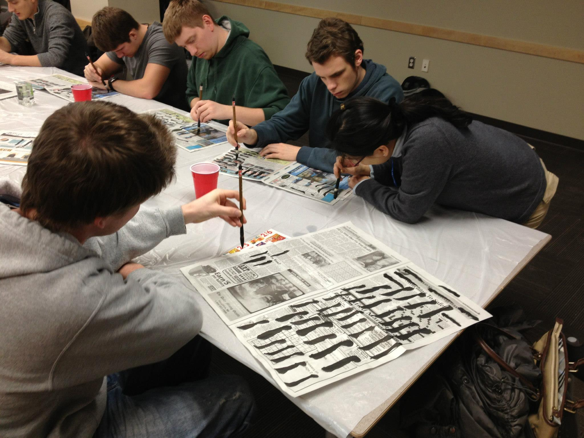 Chinese Calligraphy Workshops Humanities