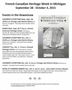 French-Canadian Heritage Week