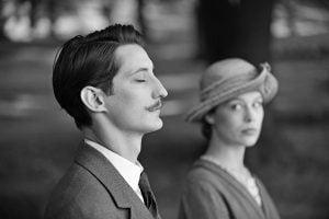 Pierre Niney and Paula Beer in Frantz movie