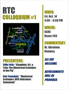 RTC colloquium event poster