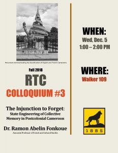 RTC Colloquium #3