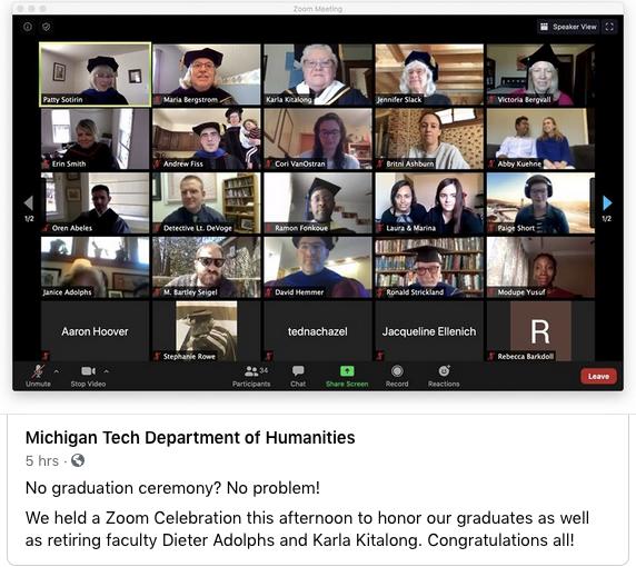 HU Virtual Graduation