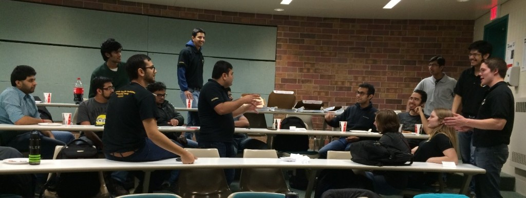 Students playing Lean Jargon Bust