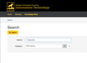 Search tool for Knowledge Base