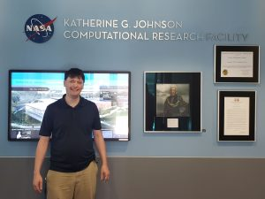Jon Welters, Michigan Tech Alumni, at NASA