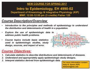 201701 Intro to Epidemiolgy EH 4990 02