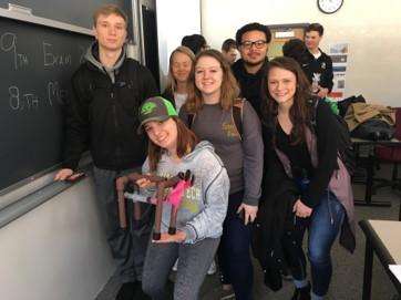 KIP 1500 Students Build Mechanical Biped
