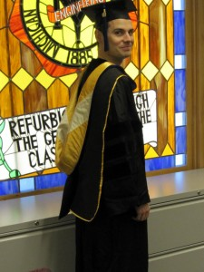 Doctoral hoods are part of a long academic tradition dating back to the Middle Ages.