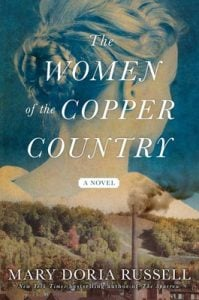 The front cover of the book, The Women of the Copper Country.