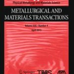 Metallurgical and Materials Transactions