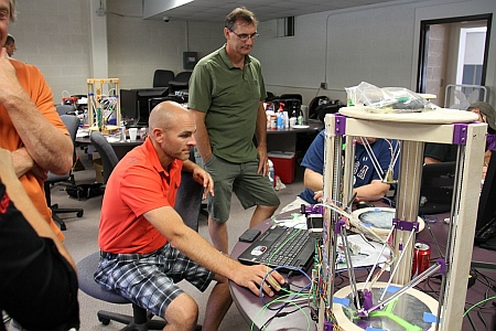 Teachers Building 3D Printers for Use in their High Schools