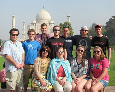 Visiting the Taj Mahal in Agra was the highlight of the day 4 of India trip on Wednesday March 13th.