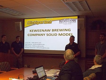 3rd Place Tie: Keweenav Brewing Company: Birr, Trevor R. Heenan, Ryan J. Torres, Mark A. Zochowski, Nicholas M.