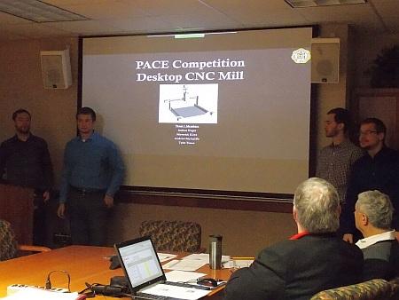 1st Place: Desktop CNC Mill, Joshua Hages Klotz, Maverick J. McAuliffe, Andrew S. Tissue, Tyler D.