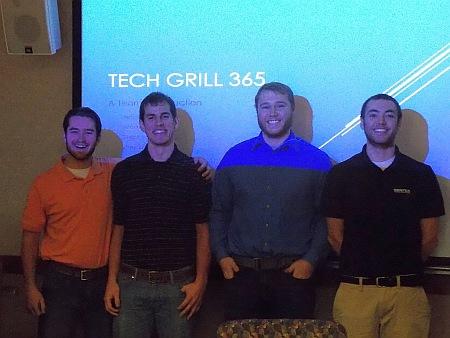 3rd Place Tie: Gas Grill: Greutman, Stephen K. Lagowski, Arick J. Roberts, Wade L. Sieberg, Alex C.