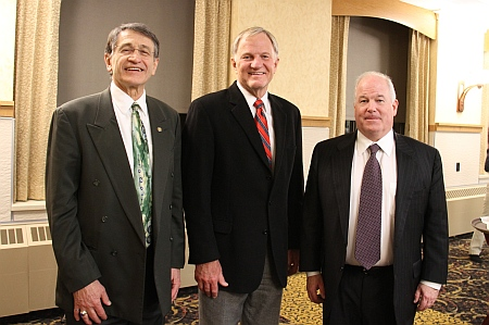 MEEM Chair William Predebon, President Glenn Mroz, and Keynote Speaker: Gerald E. McGlynn III