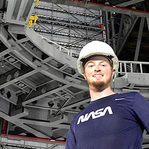 Senior Mechanical Engineering Student Jacob Hubert