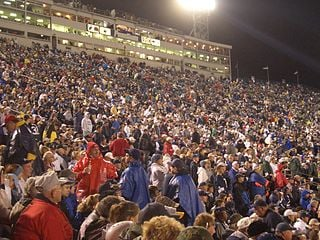 Beaver Stadium showing crowds of people in the stands