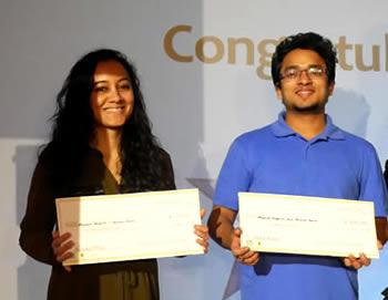 Karuna Rana and Mayank Bagaria