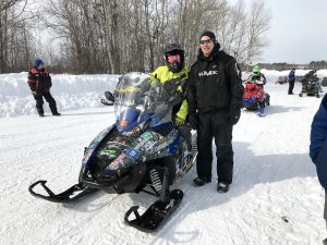 Clean Snowmobile Challenge Sled