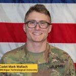 Cadet Mark Wallach. Photo from U.S. Army Cadet Command (ROTC).