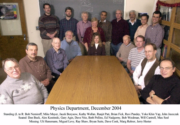 Department Group Photo 2004
