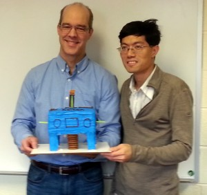 Raymond Shaw and Kelken Chang