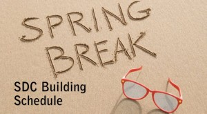 SpringBreakBldgSchedule