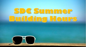 SDC Summer Building Hours