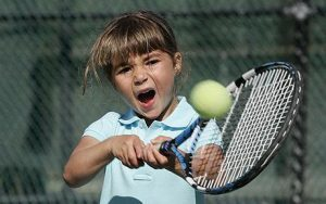 FOUR YEAR OLD TENNIS PRODIGY MIA LINES...***EXCLUSIVE*** MIAMI, USA: Four year old Mia Lines from Wantirna South, Australia during a training session in Miami, Florida, on the 4th February 2009. Mia is being coached in Florida by Rick Macci, who moulded the likes of Andy Roddick, Jennifer Capriati and the Williams sisters. PHOTOGRAPH BY BARRY BLAND / BARCROFT MEDIA LTD UK Office, London. T +44 845 370 2233 W www.barcroftmedia.com Australasian & Pacific Rim Office, Melbourne. E info@barcroftpacific.com T +613 9510 3188 or +613 9510 0688 W www.barcroftpacific.com Indian Office, Delhi. T +91 997 1133 889 W www.barcroftindia.com