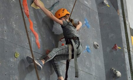 Youth Indoor Rock Climbing