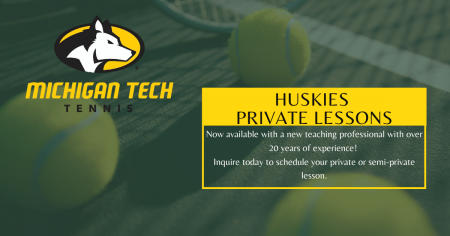 Huskies Private Tennis Lessons
