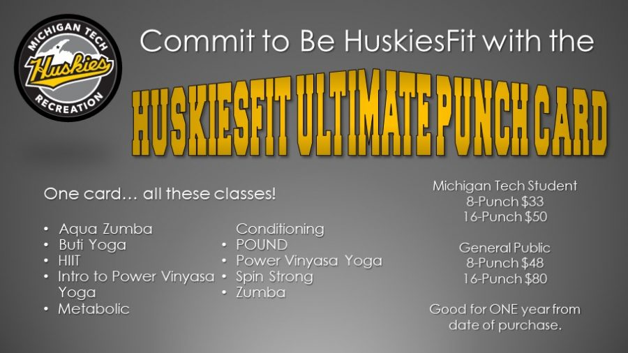 HuskiesFit Ultimate Punch Card