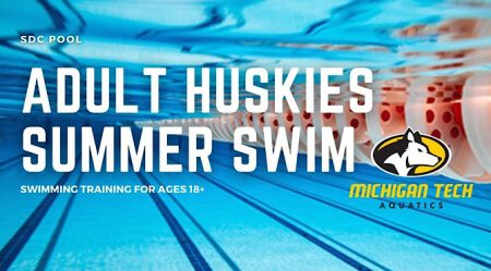 Adult Huskies Summer Swim - Swimming Training for Ages 18+