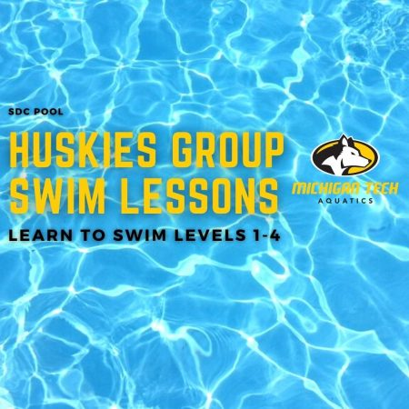 Huskies Group Swim Lessons - Learn to Swim Levels 1-4