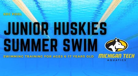 Junior Huskies Summer Swim - Swimming training for ages 6-17 years old