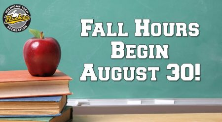 Fall Hours at SDC Begin August 30!