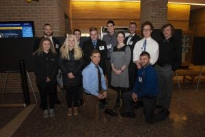 KIP students and Dr. Steven Elmer at the MSGC Conference.