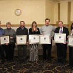 Keweenaw Chamber of Commerce Spark Plug Award Winners.