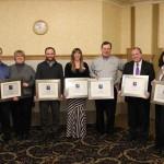 Keweenaw Chamber of Commerce Spark Plug Award Winners.