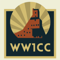WW1CC logo with Quincy Mine
