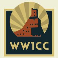 WW1CC logo with Quincy Mine