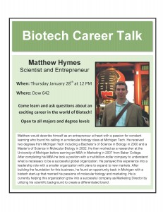 Career Talks (Mathew Hymes)