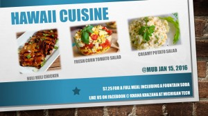 Hawaii cuisine