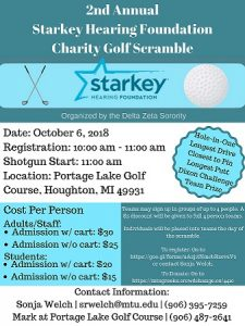 2nd Annual Starkey Hearing Foundation Charity Golf Scrambleabbb