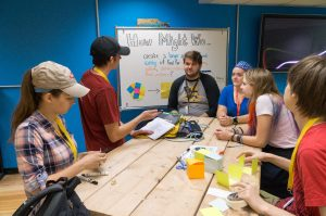 Students explore design thinking at The Alley, Michigan Tech's MakerSpace.